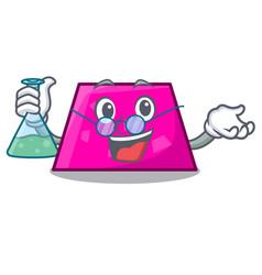 Professor trapezoid character cartoon style vector