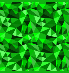 Seamless green abstract geometric rumpled vector