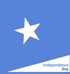 Somalia independence day vector
