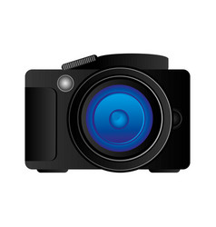 technology professional camera icon vector image