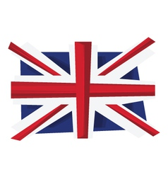 UK flag of United Kingdom vector image