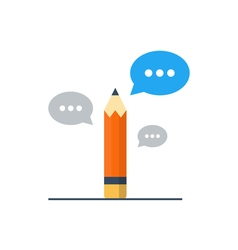 Writing skill improvement pencil with speech vector