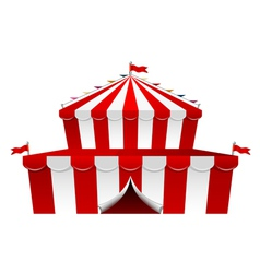 Big top circus vector