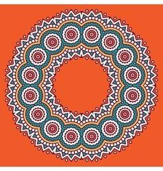 circular ornament vector image