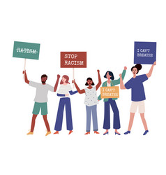 Demonstration social activism human rights protest vector