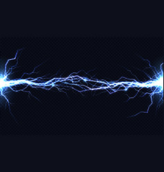 electrical energy discharge 3d light effect vector image