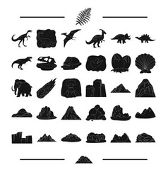 history remains study and other web icon in vector image