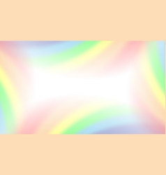 rainbow gradient background mesh vector image