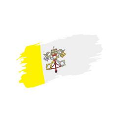vatican flag vector image