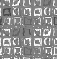 Abstract background of squares Rectangular vector image