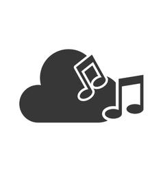 Music cloud data storage vector