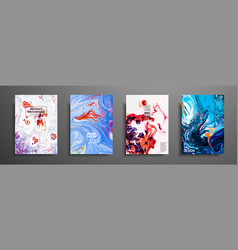 Abstract painting can be used as a trendy vector
