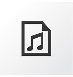 Playlist icon symbol premium quality isolated vector