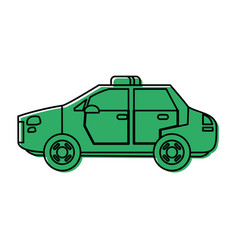 Police car icon image vector
