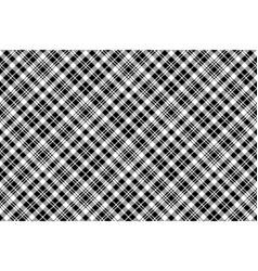 Tartan black watch pixel plaid seamless pattern vector