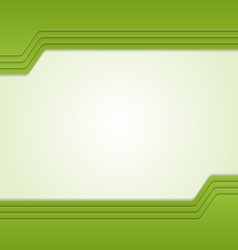 Green background with custom text vector image