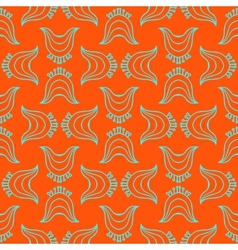 modern stilization of traditional chinese pattern vector image