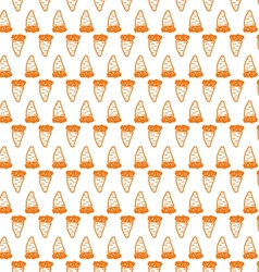 background for vegetarian food Carrot vector image