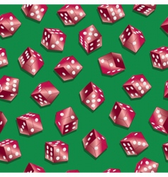 red dice wallpaper vector image vector image
