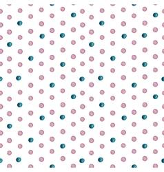 Seamless watercolor drops pattern vector image vector image