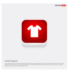 cotton t-shirt icon vector image