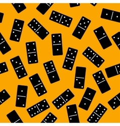 Domino seamless pattern vector