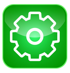 gear app icon vector image