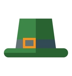 Green hat vector