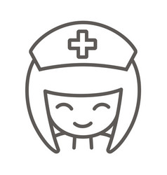 Nurse icon vector