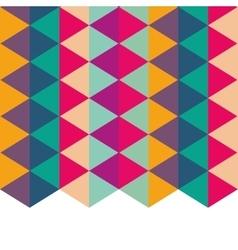 polygonal background geometric design vector image