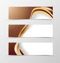 Set of banner design vector