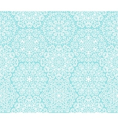 White and blue ornamental pattern vector