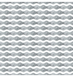 bike chain seamless background vector image