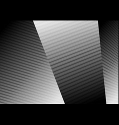 Abstract black white lines refraction vector