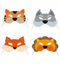 Animals Mask vector