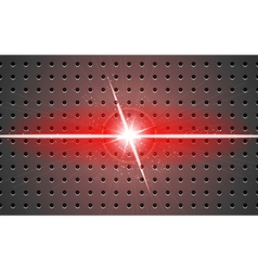 Background metal and light v-shaped projection red vector