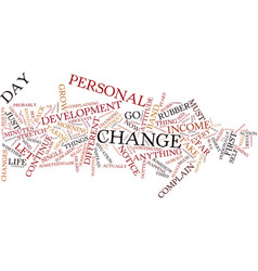 For your life to change you must change text vector