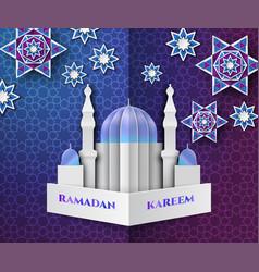 Paper cut ramadan17 vector