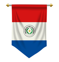 paraguay pennant vector image