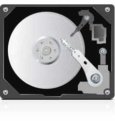 hard disc vector image