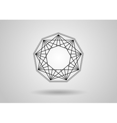 Social Network Graphic Concept Abstract background vector image vector image