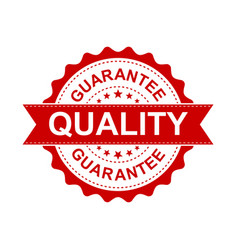 guarantee grunge rubber stamp on white background vector image