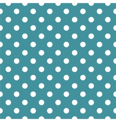 Tile mint green pattern or seamless background vector image vector image
