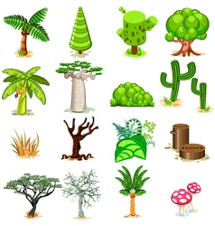 Tree Collection Pack vector image