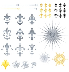 Fleur de lis designs vector