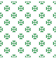 Pagan ancient symbol pattern seamless vector