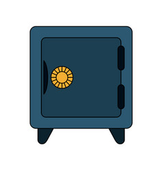 Safe box icon image vector