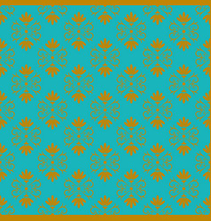 seamless floral pattern for background design vector image vector image