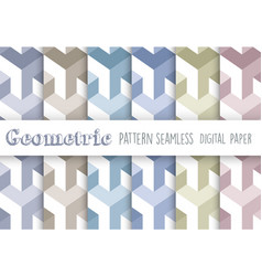 seamless repeating pattern geometric vector image