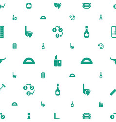 Texture icons pattern seamless white background vector